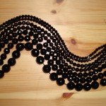 Onyx Faceted Round Beads